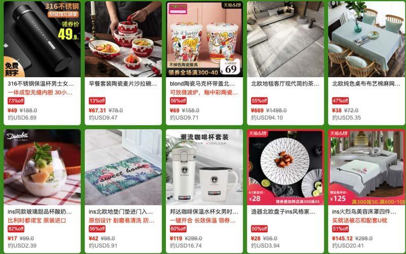 Hàng hóa được bày bán trên taobao có chất lượng như thế nào